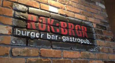 Photo of Gastropub ROK:BRGR at 208 Sw 2nd St, Fort Lauderdale, FL 33301, United States