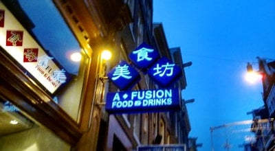 Photo of Japanese Restaurant A-Fusion at Zeedijk 130, Amsterdam 1012 BC, Netherlands