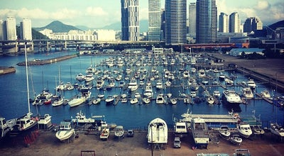 Photo of Harbor / Marina 수영만 요트경기장 at 해운대구 해운대해변로 84, 부산광역시, South Korea