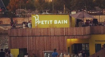 Photo of Beer Garden Le Petit Bain at 7 Port De La Gare, Paris 75013, France