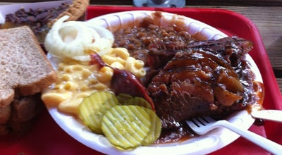 Photo of BBQ Joint Augie's Barbed Wire Smokehouse at 3709 N Saint Marys St, San Antonio, TX 78212, United States
