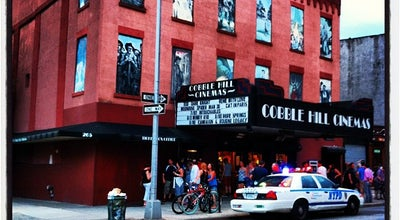 Photo of Indie Movie Theater Cobble Hill Cinemas at 265 Court St, Brooklyn, NY 11231, United States