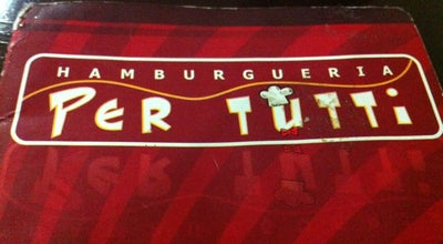 Photo of Burger Joint Per Tutti at Av. Dom Carlos Carmelo, 272, Araraquara 14805-070, Brazil