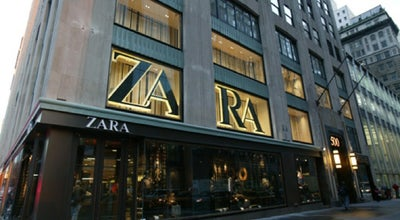 Photo of Clothing Store Zara at 689 5th Ave, New York, NY 10103