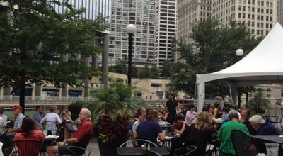 Photo of American Restaurant O'Briens Riverwalk Cafe at 45 E Riverwalk S, Chicago, IL 60601, United States