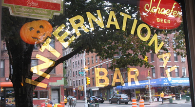 Photo of Dive Bar International Bar at 120 1st Ave, New York, NY 10009, United States