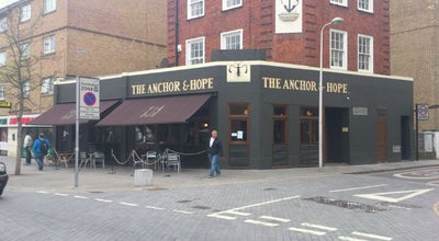 Photo of Gastropub The Anchor & Hope at 36 The Cut, London SE1 8LP, United Kingdom