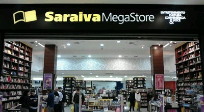 Photo of Bookstore Saraiva Megastore at Praia De Belas Shopping, Porto Alegre 90110-001, Brazil