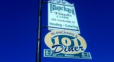 Photo of Diner Blanchard's 101 Diner at 322 Cambridge St, Worcester, MA 01603, United States