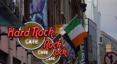 Photo of American Restaurant Hard Rock Cafe Dublin at 12 Fleet St, Dublin 2, Ireland
