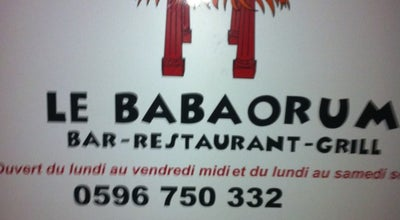 Photo of Cocktail Bar Babaorum at 42 Route De Châteauboeuf, Fort-de-France 97200, Martinique