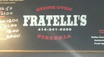 Photo of Italian Restaurant Fratelli's Stone Oven & Grill at 6202 W Lincoln Ave, West Allis, WI 53219, United States
