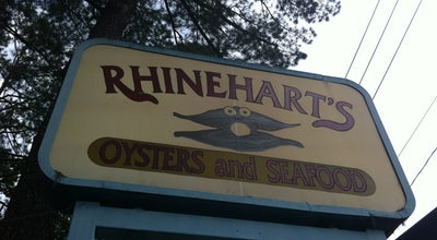 Photo of Seafood Restaurant Rhinehart's Oyster Bar at 3051 Washington Rd, Augusta, GA 30907, United States