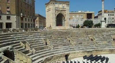 Photo of Historic Site Anfiteatro Romano at Piazza Sant'oronzo, Lecce, Italy