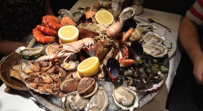 Photo of Seafood Restaurant La Mascotte at 52 Rue Des Abbesses, Paris 75018, France
