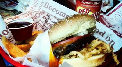 Photo of Burger Joint Red Robin Gourmet Burgers at 14736 E Indiana Ave, Spokane Valley, WA 99216, United States