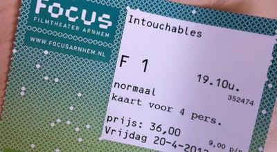 Photo of Indie Movie Theater Focus Filmtheater at Korenmarkt 42, Arnhem 6811GW, Netherlands