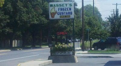 Photo of Ice Cream Shop Massey's Frozen Custard at 600 W High St, Carlisle, PA 17013, United States