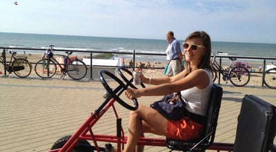 Photo of Beach Coastbikes at Middelkerke, Belgium