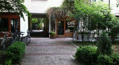 Photo of Cafe Cafe im Hinterhof at Sedanstr. 29, München 81667, Germany