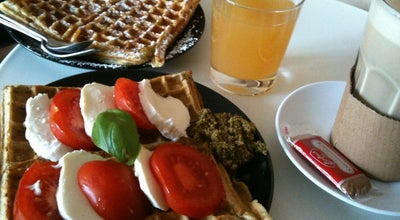 Photo of Cafe Bewaffel Dich at Neumarktstr. 9, Halle (Saale) 06108, Germany