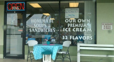 Photo of Ice Cream Shop Lickety Split Cafe at 2900-2940 S Mccall Rd, Englewood, FL 34224, United States