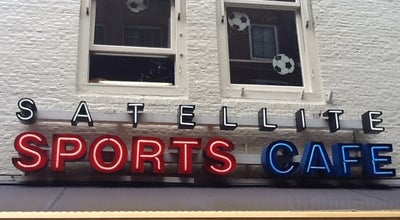 Photo of American Restaurant Satellite Sports Cafe at Leidseplein 11, Amsterdam 1017 PS, Netherlands