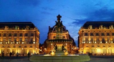 Photo of Plaza Place de la Bourse at Place De La Bourse, Bordeaux 33000, France