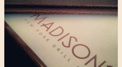 Photo of Steakhouse Madisons New York Grill & Bar at 11590, Boulevard De Salaberry Ouest, Dollard-des-Ormeaux, QC H9B 2R8, Canada
