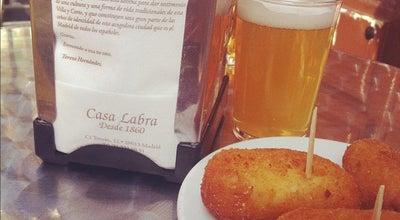 Photo of Tapas Restaurant Casa Labra at C. Tetuán, 12, Madrid 28013, Spain