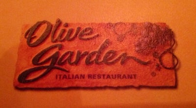 Photo of Italian Restaurant Olive Garden at 121 Tunnel Rd, Asheville, NC 28805, United States