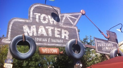 Photo of Theme Park Ride / Attraction Mater's Junkyard Jamboree at Cars Land, Anaheim, CA 92802, United States