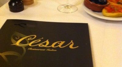 Photo of Italian Restaurant César at 12 Avenue De Wagram, Paris 75017, France