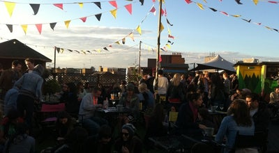 Photo of Roof Deck Rooftop @ Queen Of Hoxton at 1-5 Curtain Rd, Shoreditch EC2A 3JX, United Kingdom