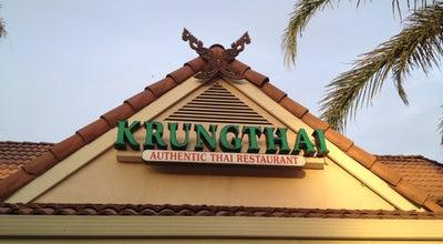Photo of Thai Restaurant New Krung Thai Restaurant at 580 N Winchester Blvd, San Jose, CA 95128, United States