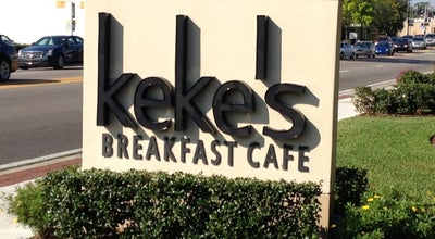Photo of Breakfast Spot Keke's Breakfast Cafe at 345 W Fairbanks Ave, Winter Park, FL 32789, United States