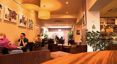Photo of Coffee Shop Moksha Caffé at 4-5 York Pl, Brighton BN1 4GU, United Kingdom
