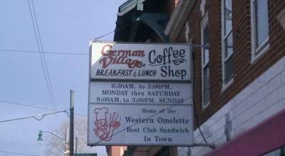 Photo of Coffee Shop German Village Coffee Shop at 193 Thurman Ave, Columbus, OH 43206, United States