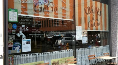 Photo of Cafe crepes a gogo at 18 Yorkville Ave, Toronto, ON M4W 1L4, Canada
