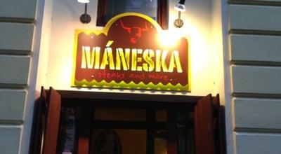 Photo of Steakhouse Máneska at Mánesova 1391/59, Praha 120 00, Czech Republic
