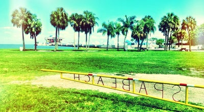 Photo of Beach Downtown St Pete Beach Park at St Petersburg, FL, United States