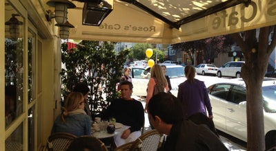 Photo of Italian Restaurant Rose's Cafe at 2298 Union St, San Francisco, CA 94123, United States