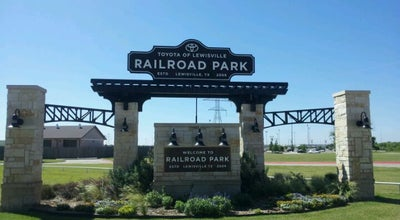 Photo of Park Toyota of Lewisville Railroad Park at 1301 S. Railroad Street, Lewisville, TX 75057, United States