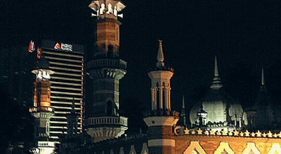 Photo of Mosque Masjid Jamek Kuala Lumpur at Jalan Tun Perak, Kuala Lumpur 50350, Malaysia