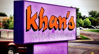 Photo of Asian Restaurant Khan's Mongolian Barbeque at 2720 Snelling Ave N, Roseville, MN 55113, United States