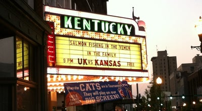 Photo of Indie Movie Theater Kentucky Theatre at 214 Main Street, Lexington, KY 40507, United States