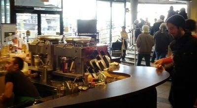 Photo of Coffee Shop Starbucks at 1795 Davie St, Vancouver, BC V6G 2K6, Canada