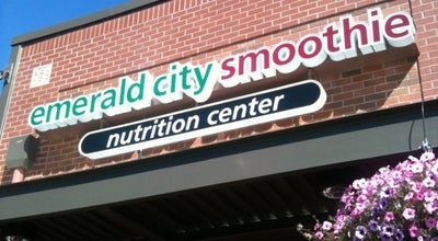 Photo of Juice Bar Emerald City Smoothie at 1058 Lakeway Dr, Bellingham, WA 98229, United States
