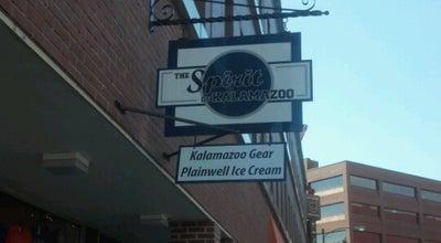 Photo of Ice Cream Shop Spirit Of Kalamazoo at 128 Portage St, Kalamazoo, MI 49007, United States