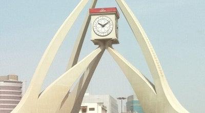 Photo of Monument / Landmark Clock Tower at Al Maktoum Rd, Al Rigga, United Arab Emirates